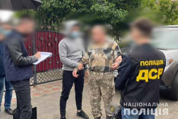 На хабарі попався військовий на Тернопільщині: 1500 доларів (Фото, Відео)